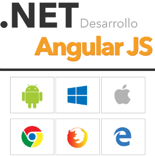 Web and app development on Angular JS y .NET